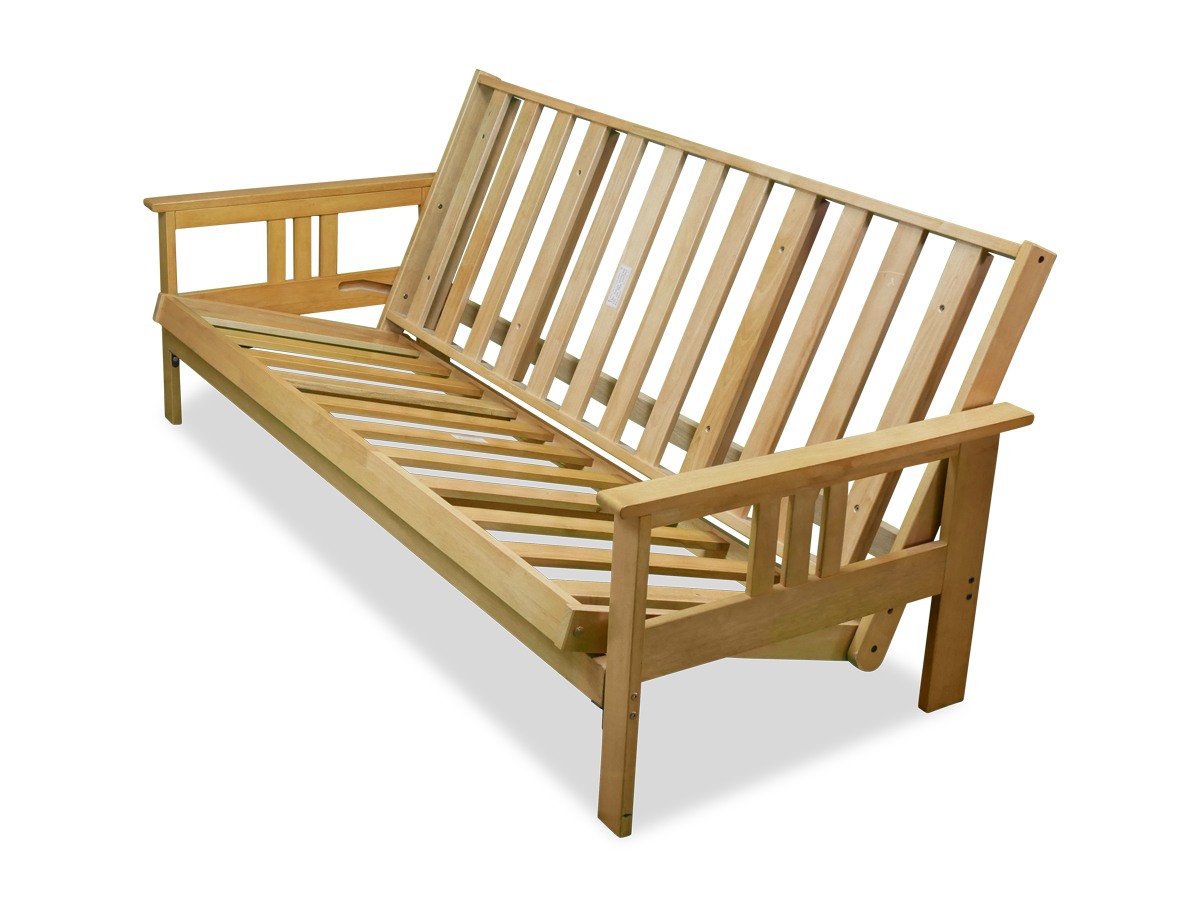 Chloe Wood Futon Frame Only